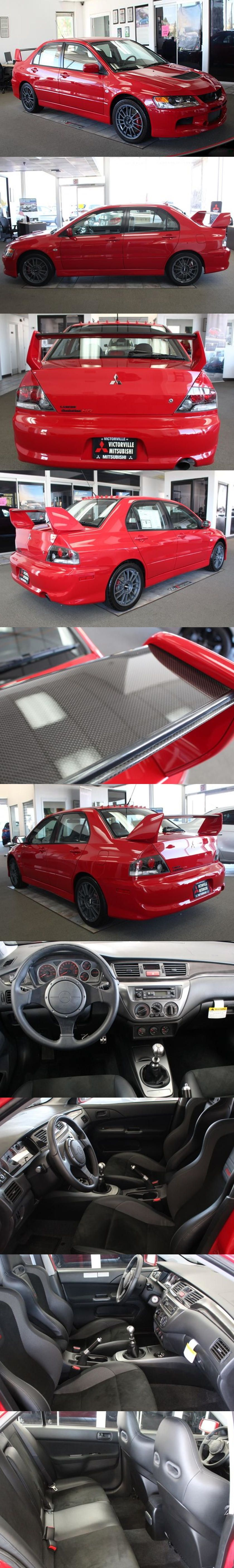 Hidden Treasure Brand New 2006 Mitsubishi Lancer Evolution Mr Edition And It Costs How Much Mitsubishi Lancer Evolution Mitsubishi Lancer Mitsubishi
