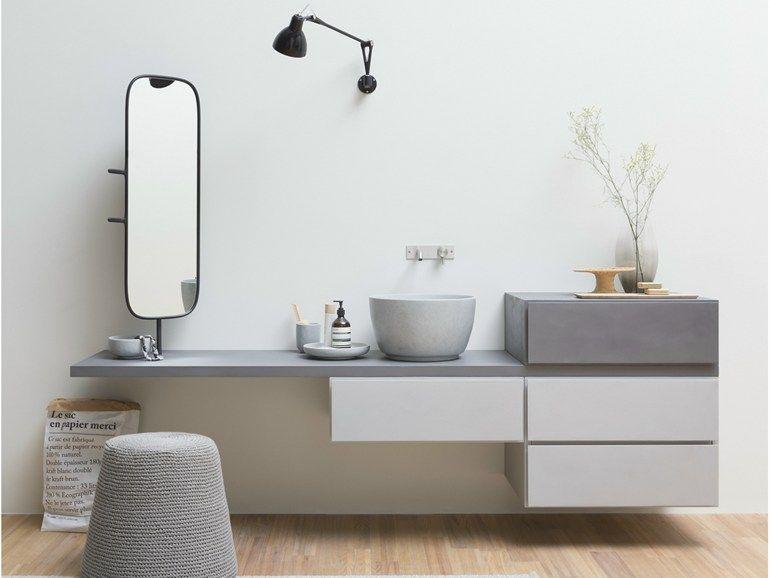 Mobile lavabo sospeso con cassetti ESPERANTO | Mobile lavabo sospeso ...