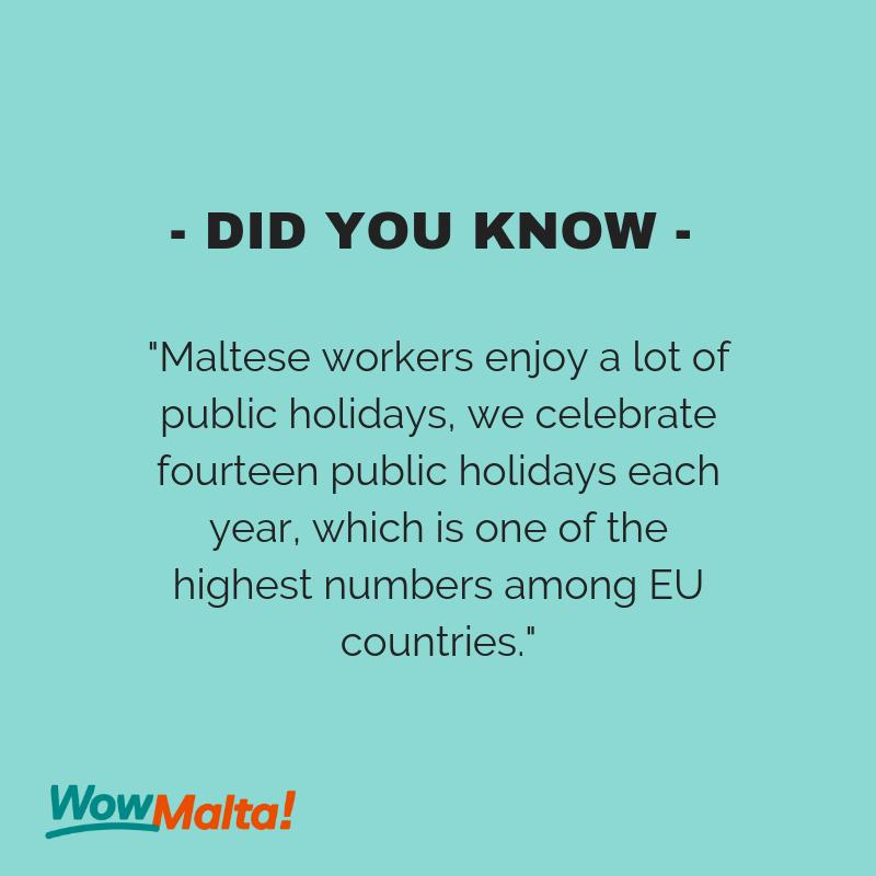 Did You Know Malta Lovemalta Visitmalta Did You Know Public Holidays