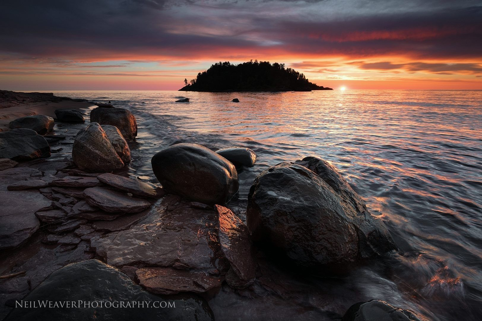 Sunrise at Little Presque Isle Point, photo by Neil Weaver Photography The Michigan Department of Natural Resources says in part about a proposed Little Presque Isle Natural Area: The Little Presqu…