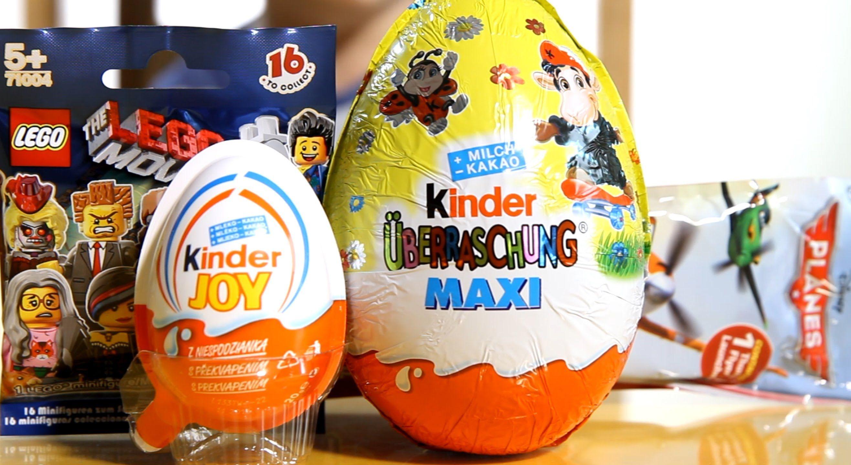 New 2019! Kinder joy / kinder surprise eggs easter special edition.