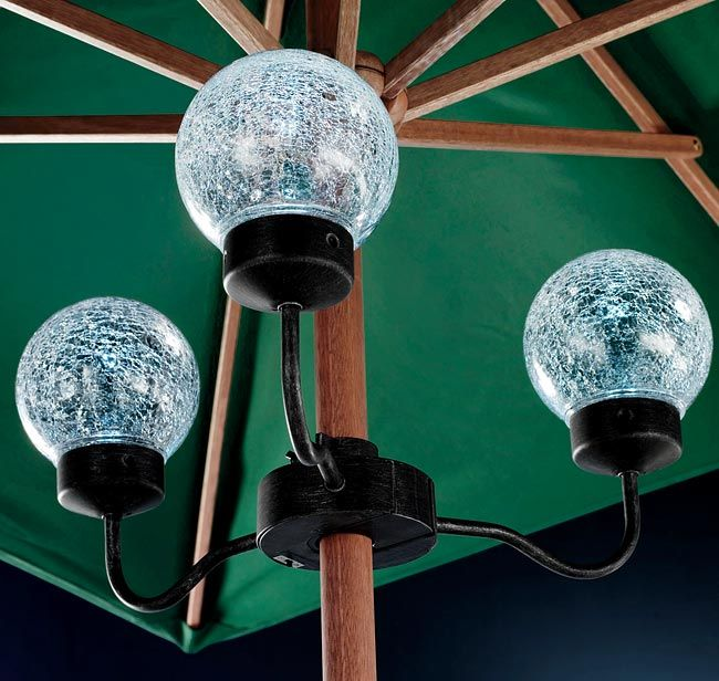 Solar Lights For Patio Umbrellas Unique Just Found This Patio Umbrella Lights  Outdoor Batteryoperated Design Inspiration