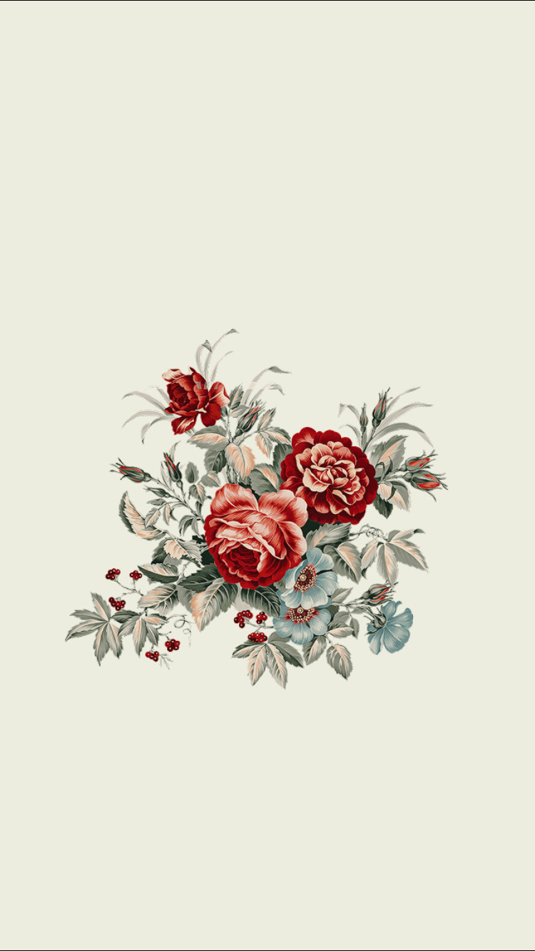 Floral Wallpaper In 2020 Minimalist Wallpaper Backgrounds Phone Wallpapers Iphone Background Wallpaper