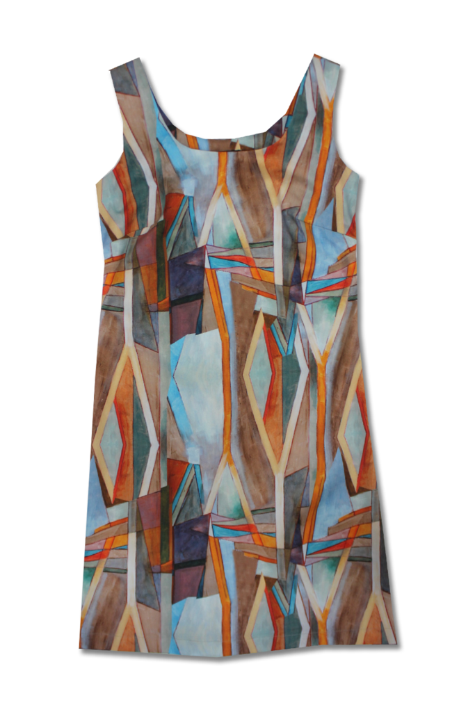 Expressionist Shift Dress   Thriveclothing