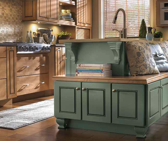 Diamond Rustic Kitchen Cabinets Eclectic Kitchen Home