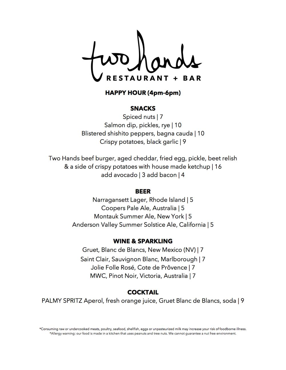 two hands restaurant and bar **** | Restaurants I shall eat at ...