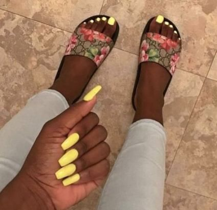 super nails acrylic coffin long dark skin ideas  girls