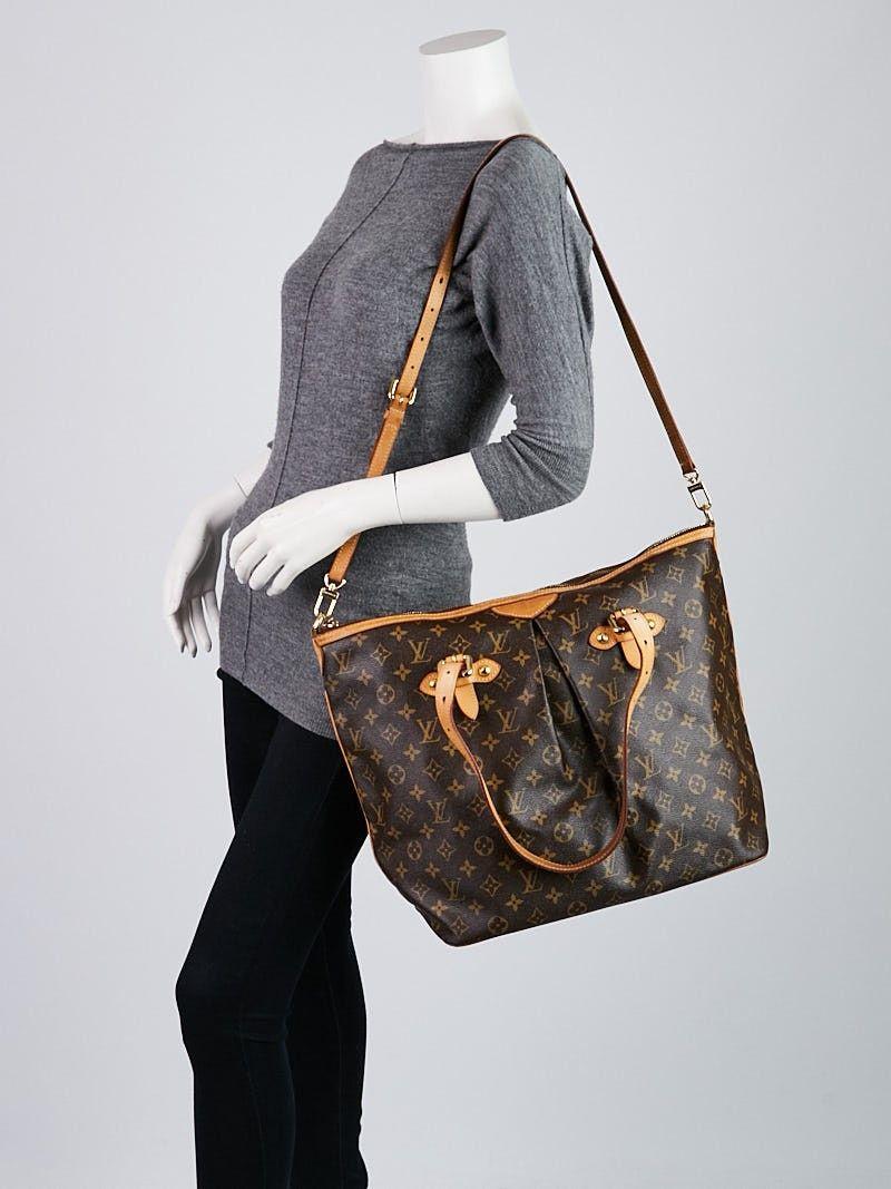 d6f244165111 Louis Vuitton Monogram Canvas Palermo GM Bag
