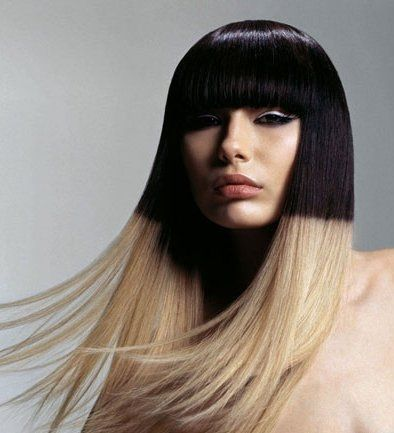 Blonde and Black Hair Color Ideas - A high contrast two tone hair color can turn you into a modern day diva, so take your cue from the following blonde and ...