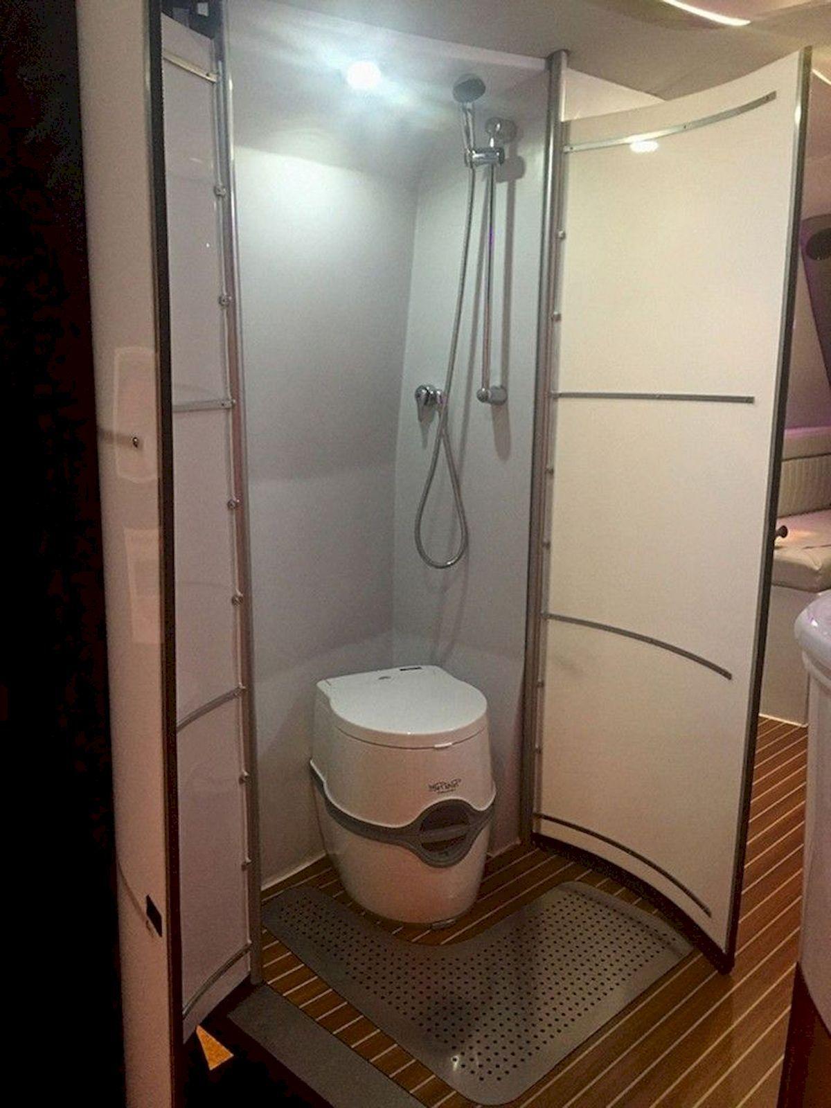 Nice Rv Champers Bathroom Remodel Camper Bathroom Rv Bathroom Small Bathroom