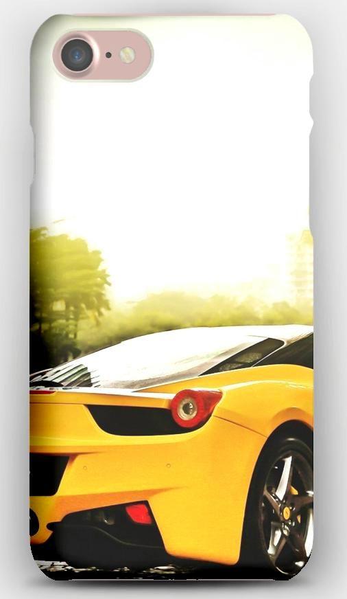 Iphone 7 Case Ferrari Yellow Road Iphone 7 Cases Iphone 7 Iphone