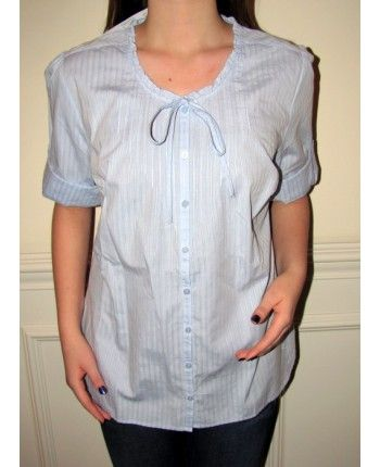 Product No: 5303 Light Blue Designer #Cotton Beautiful #Tunic #Top on #Sale. This designer top exudes pretty, dainty and simple elegance. Product of a liquidation sale this tunic is a bargain that will make you look great at a discounted affordable sale price at #YoursElegantly.   #CottonTunic #CottonTop