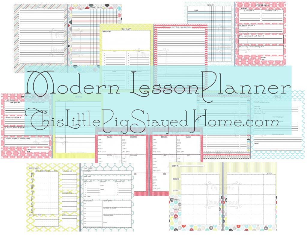 Free Amp Cute Great Planner For Teachers