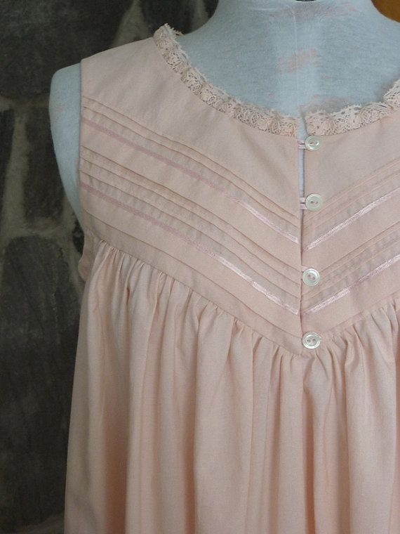 Gorgeous Heirloom Sewing Night Gown Cotton Nighties