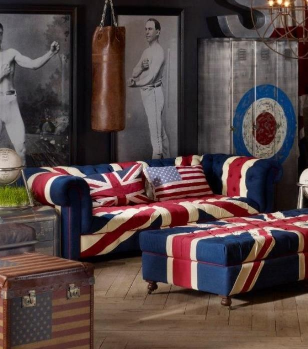 The Westminster Union Jack Sofa Is A Playful Celebration Of Royal