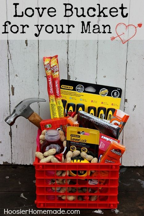 Gift basket for men easter birthdays and gift birthday easter fathers day for the men in your lives this is great easter basket idea for the handyman in your familymy girls need one of these negle Images