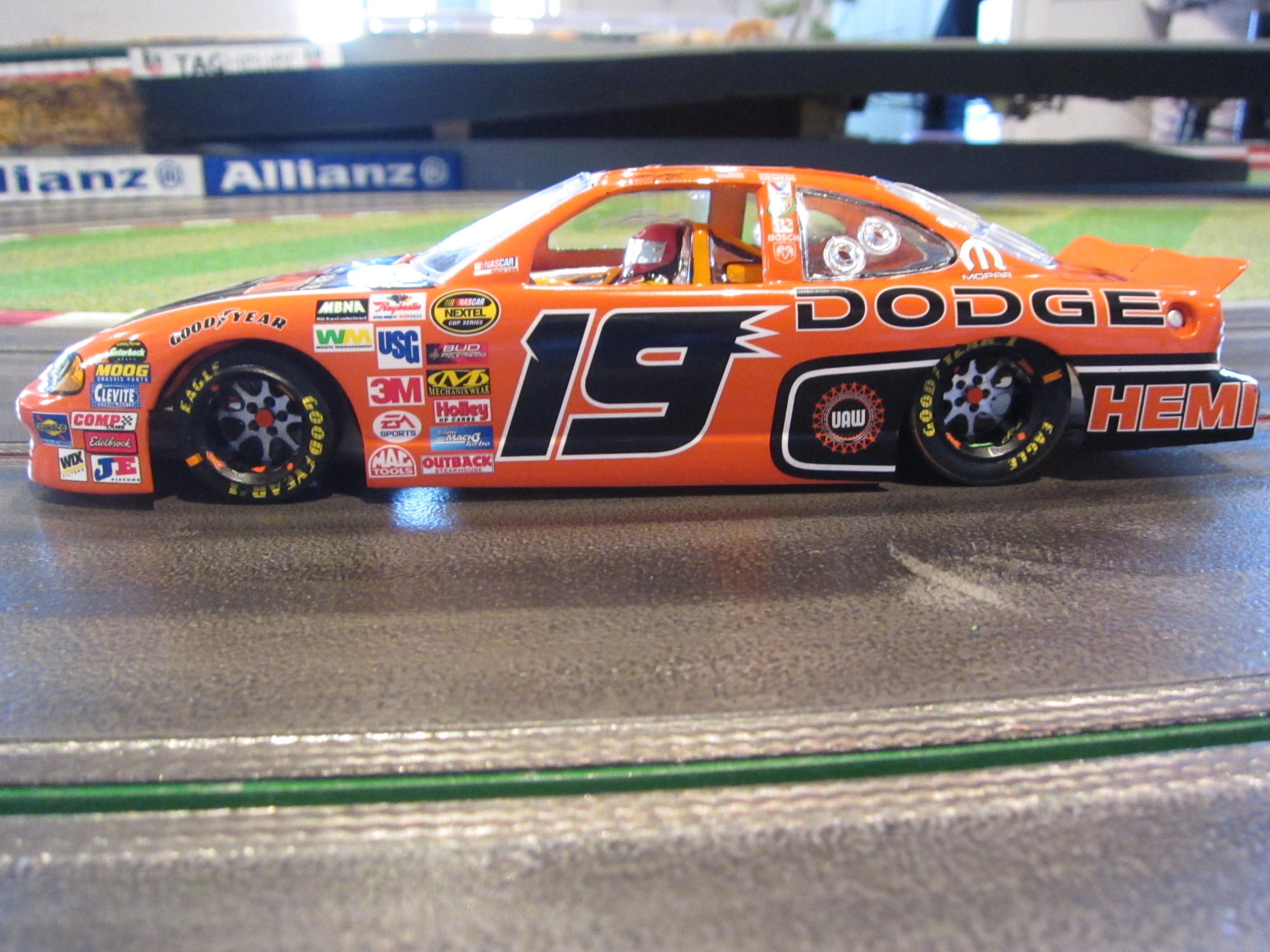 1/24 Scale Hard Bodies Nascar