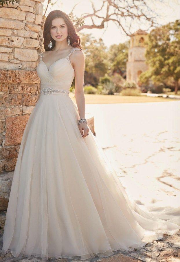 Die Meisten Schmeichelhaft A-Linie Hochzeit Kleider für Ihren Großen ...