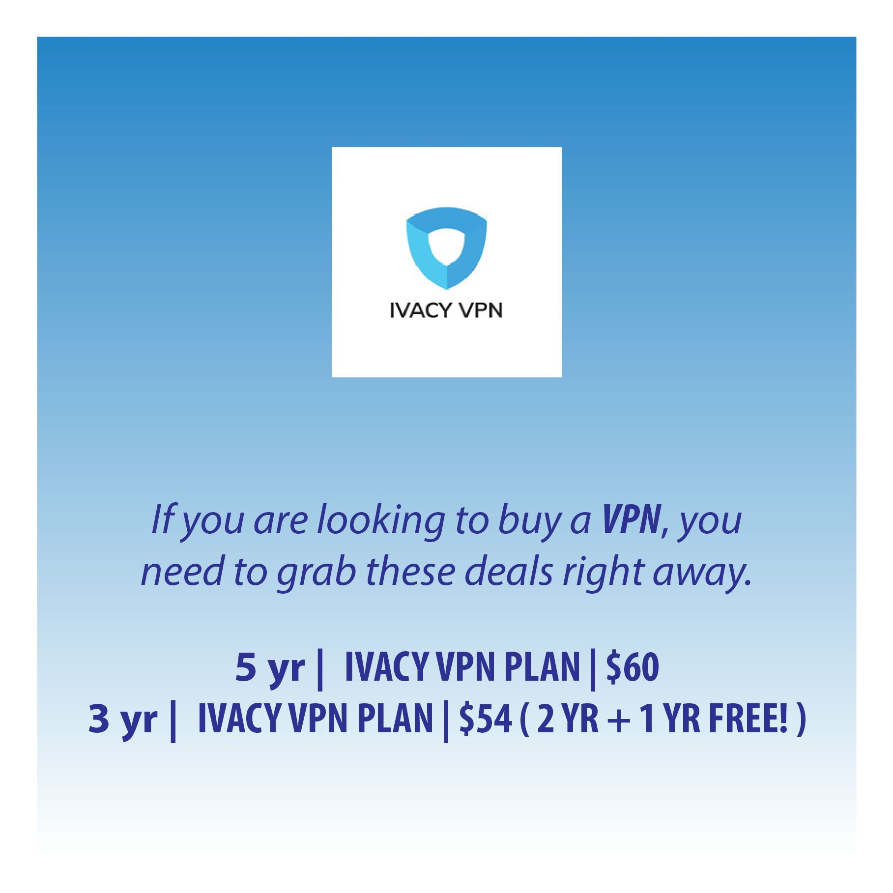 If you are looking to buy a VPN, you need to grab these
