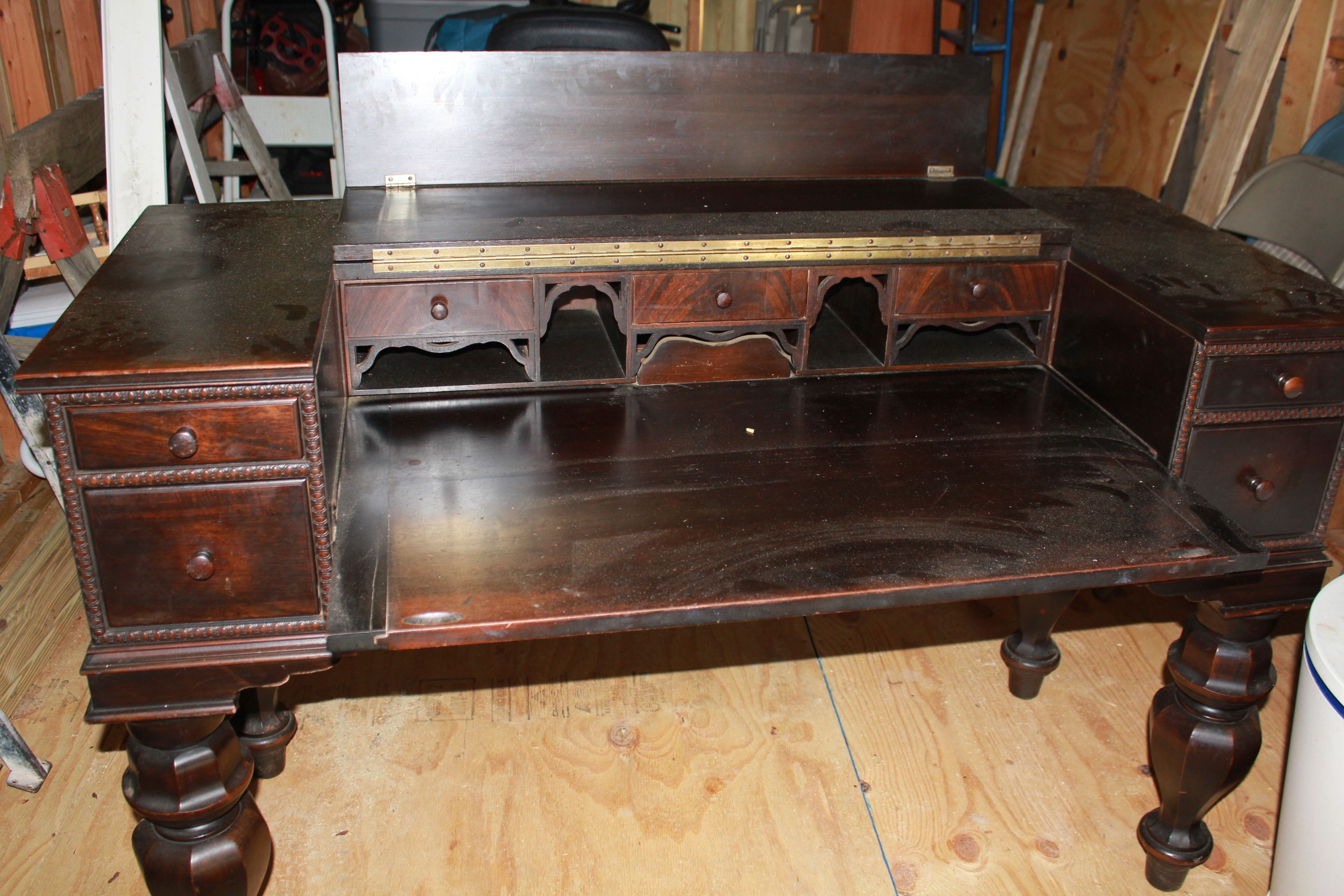 Antique Desks Beautiful Antique Dark Wood Piano Desk Great Condition Dont Know Piano Desk Dark Wood Desk Antique Desk
