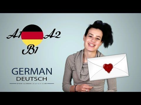 German B1 Exam And A2 Write Letters Part 1 Invitations To The