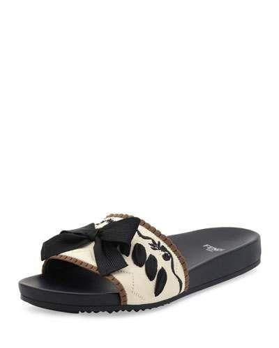 Maeple Floral Slide Sandals w9eNLGd8
