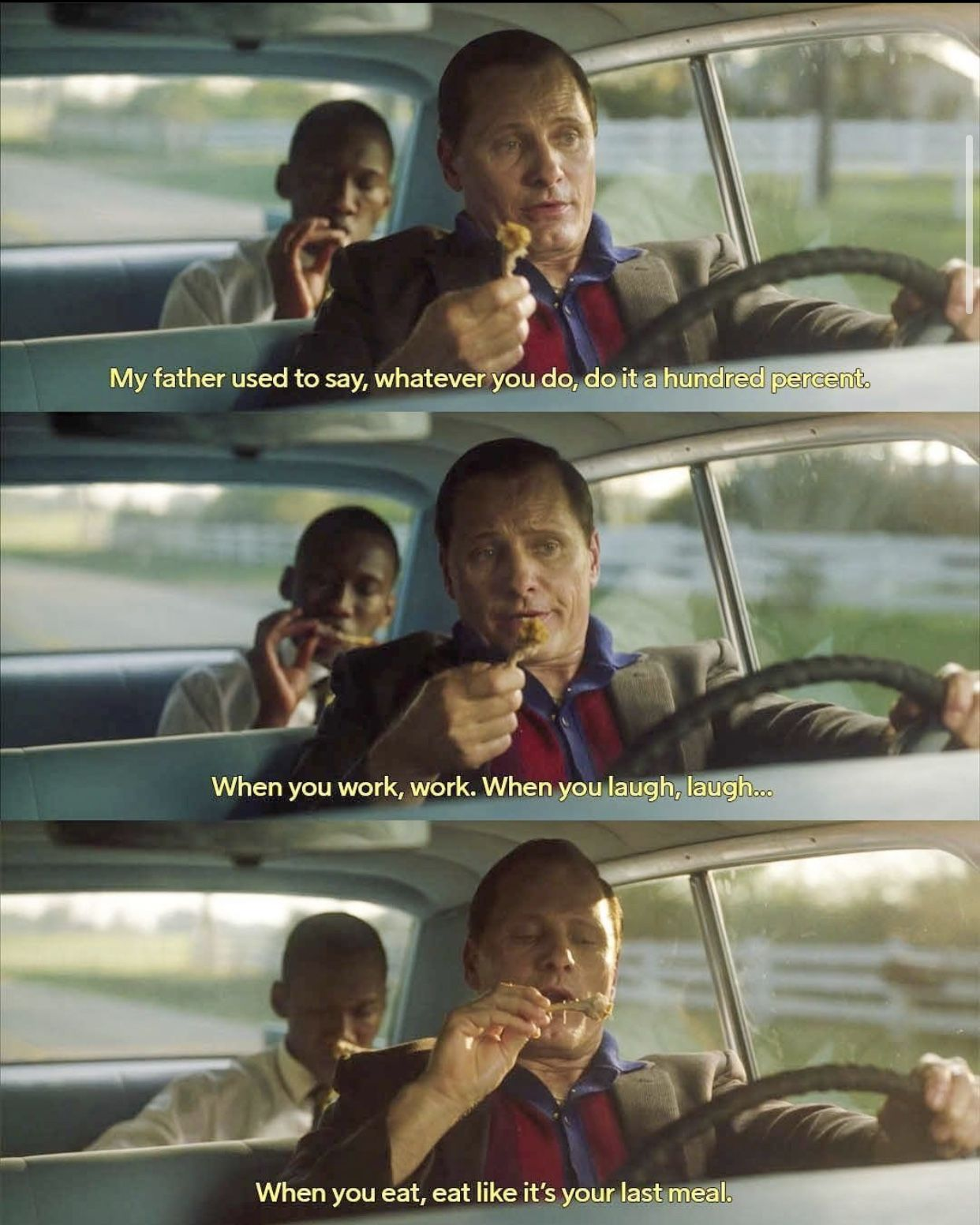 From The Movie Green Book Netflixseries Viaplay Greenbook Quoteoftheday Livelovelaugh Pinterest Mindset Livelifetothefullest En 2020 Cine Peliculas Pelis