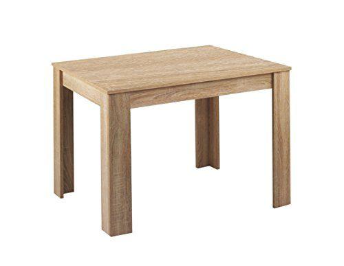 Cavadore 80504 Tisch Nick Moderner Esstisch Gefertigt Aus Melamin Sonoma Eiche Resistent Gegen Schmutz