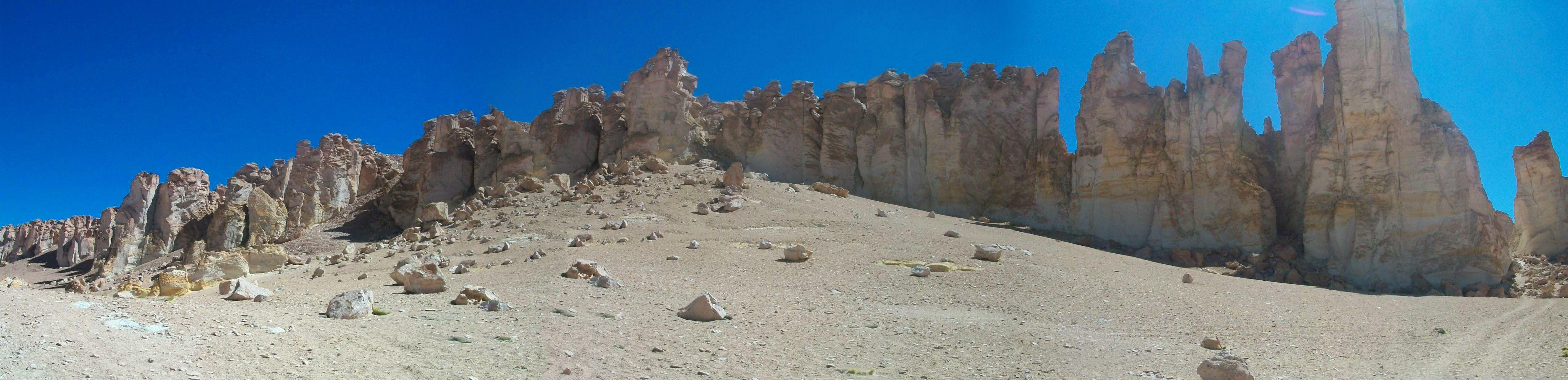 Catedrales de cenizas. San Pedro de Atacama
