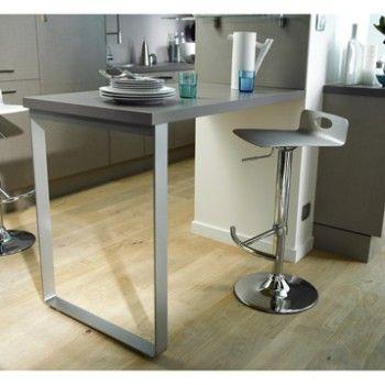 Pied Fixe En U Facon Inox L64xh85 Cm Delinia Design De Salle De Bain Plan De Travail Design De Salle A Manger