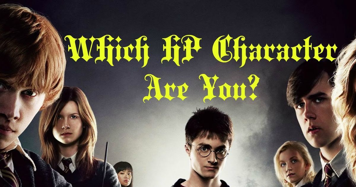 Which Harry Potter Character Are You Harry Potter Characters Harry Potter How To Find Out