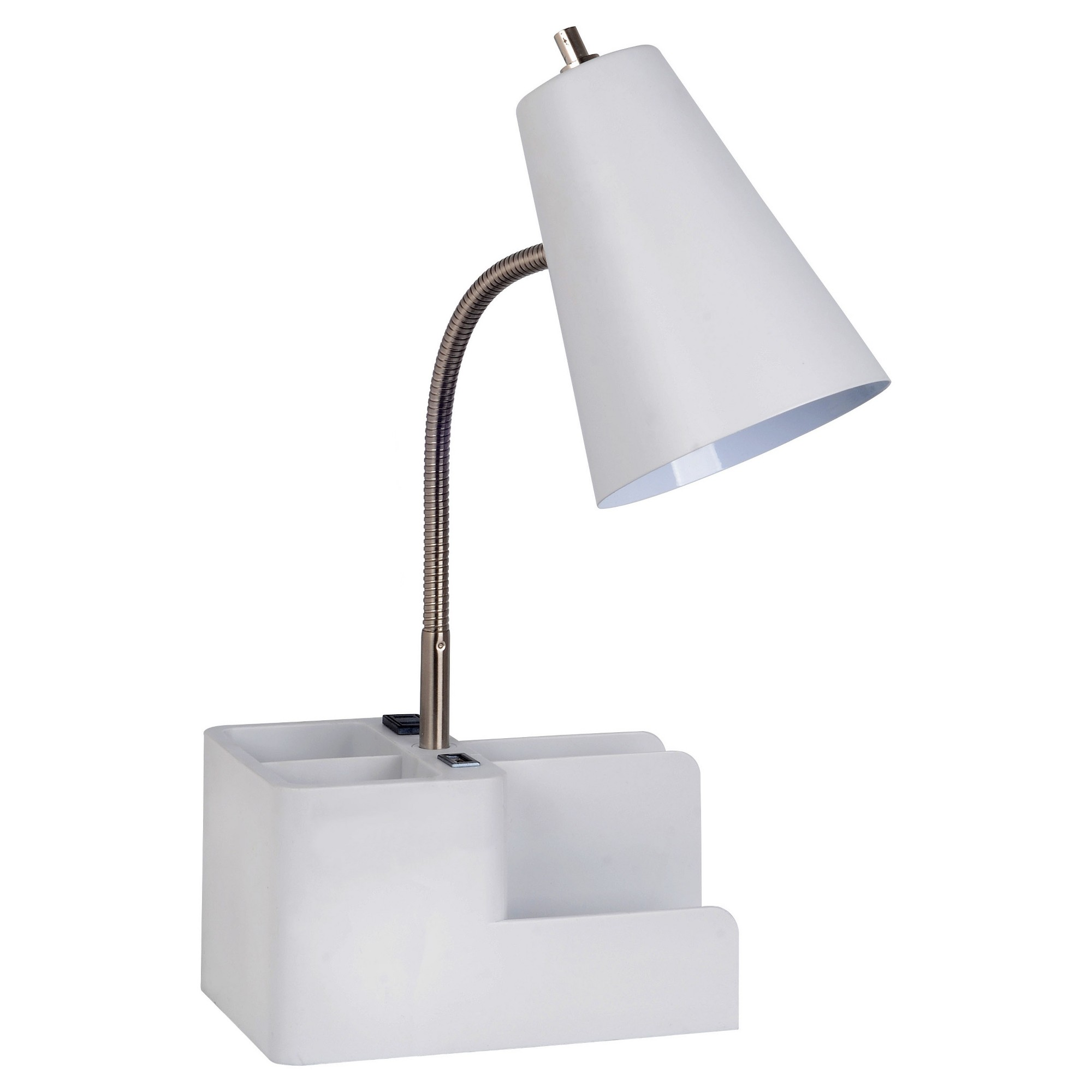 Phenomenal Organizer Task Lamp White Includes Energy Efficient Light Home Remodeling Inspirations Basidirectenergyitoicom