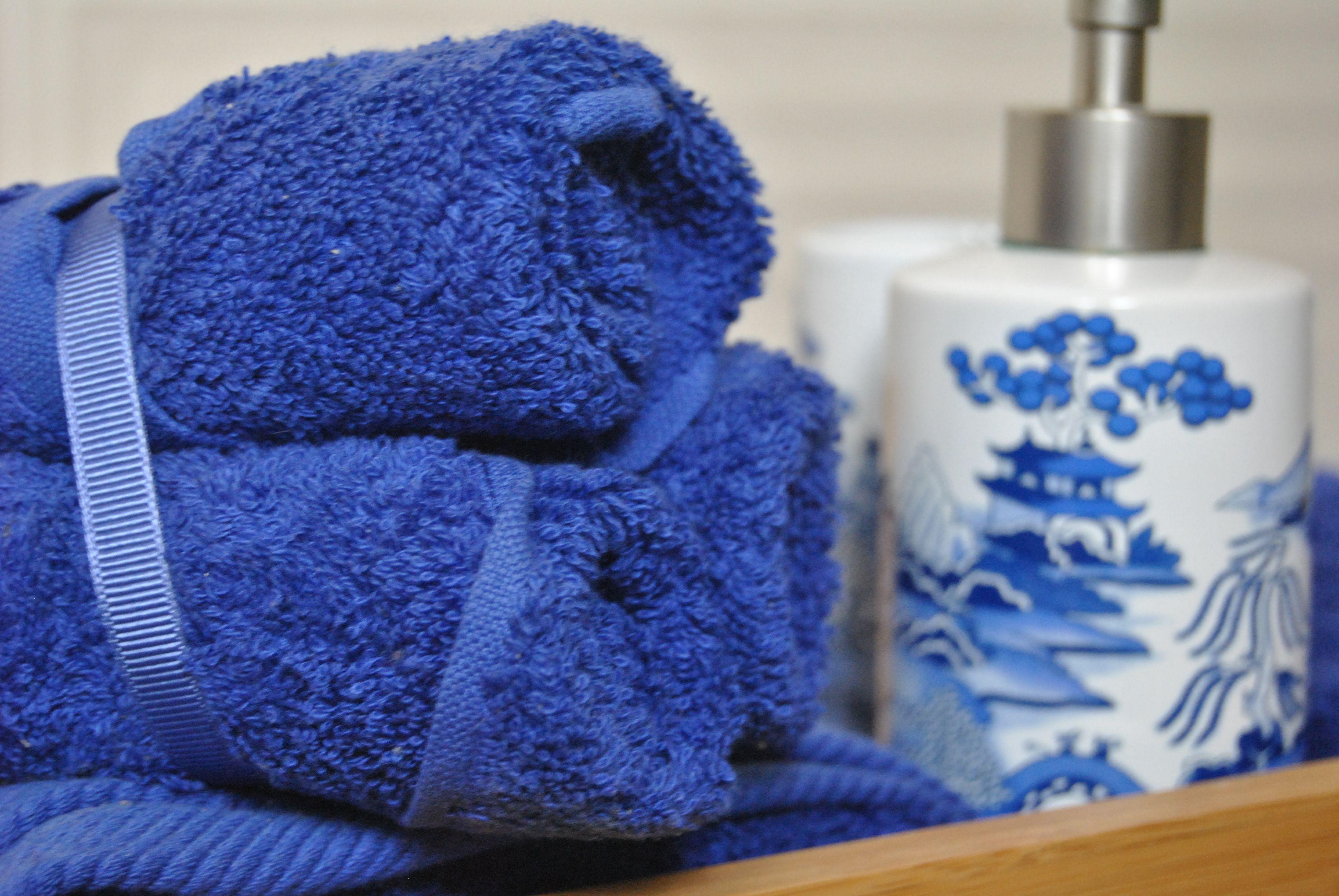 Combinando tamaños de toallas