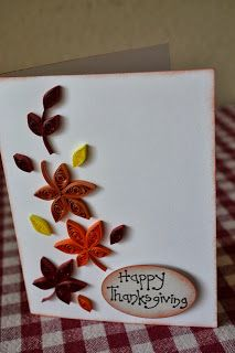 Quilling ideas happy thanksgiving patterns tutorial designs also best projects to try images masculine cards golden rh pinterest