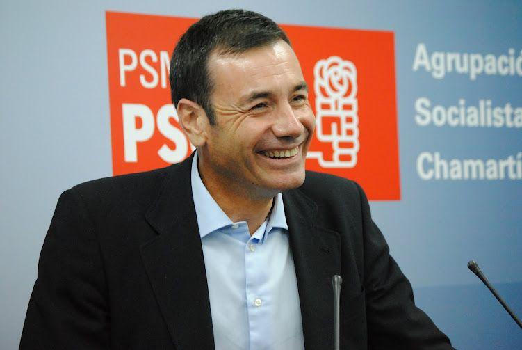 Tomás Gómez inaugura la Agrupación Socialista de Chamartín