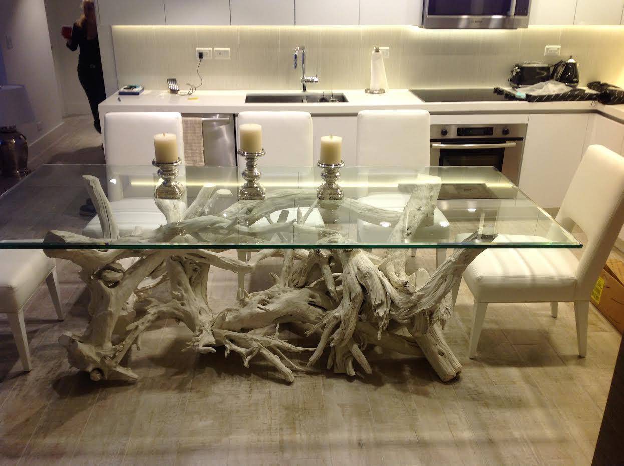 Custom Driftwood Dining Table Driftwood Coffee Table Art