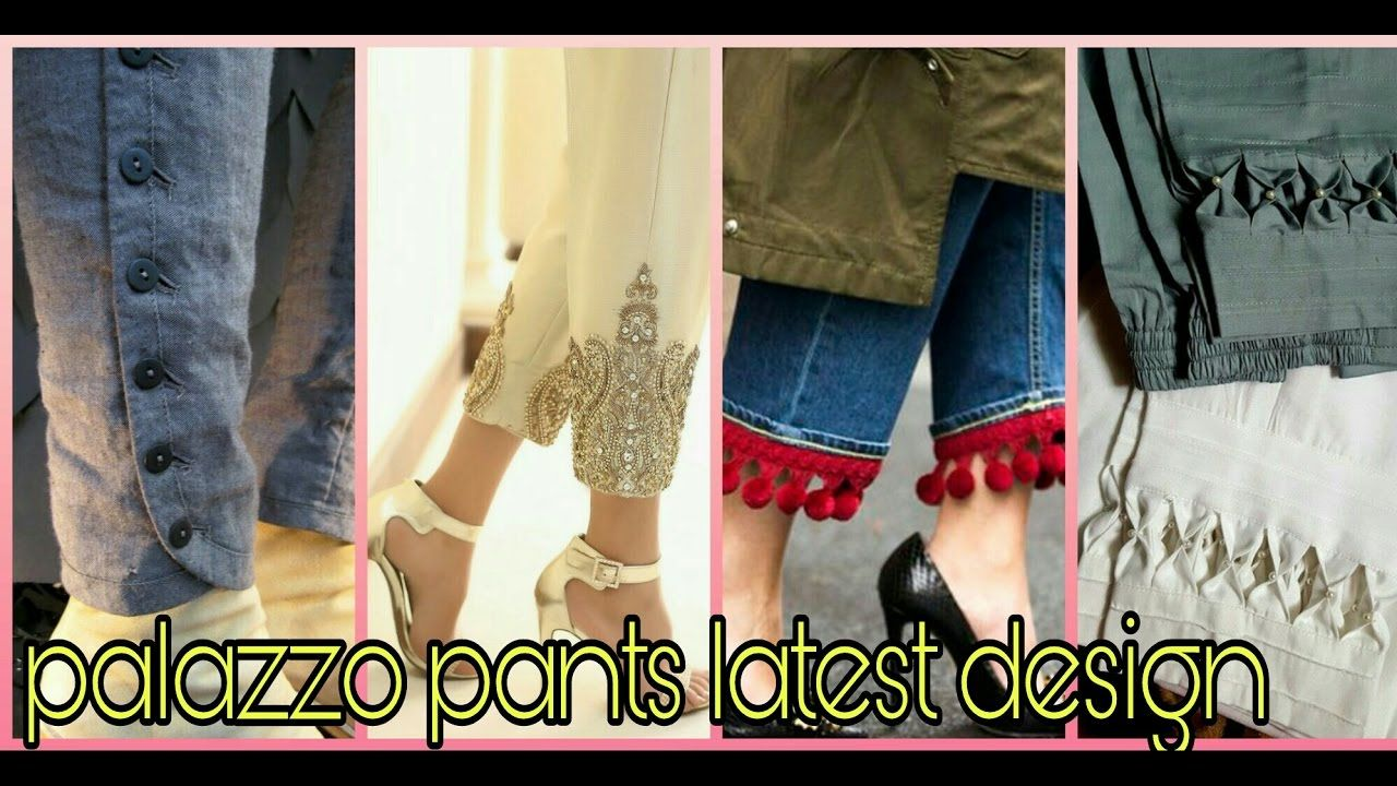 palazzo pants design (beautiful ever) | SEWING IDEAS and PATTERNS ...