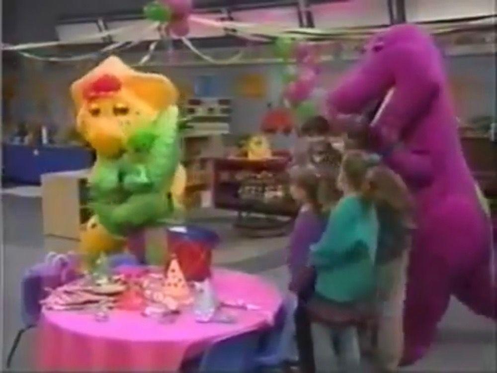 BJ Hugs Baby Bop   Barney & Friends   Barney & friends