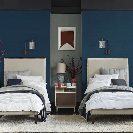 Small Apartment Bedroom West Elm Bedroom Ideas Bedroom Design Houzz Lighting Ideas For Bedroom: Light + Lofty. Handstitched In India With Contrast