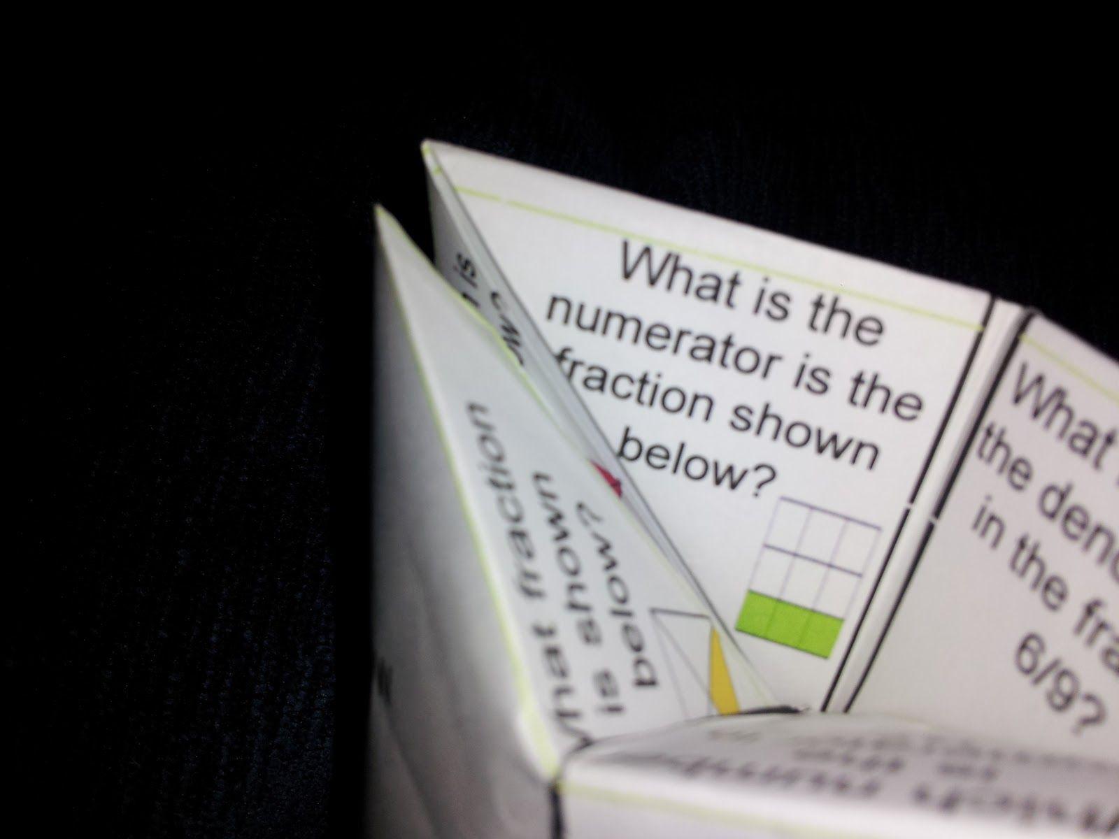 Math Fortune Tellers
