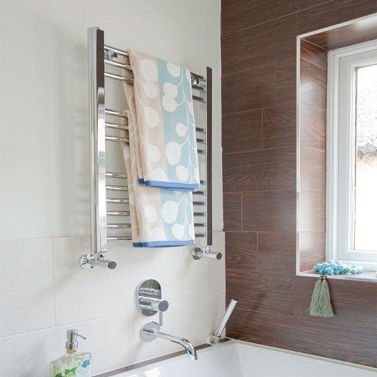 Towel Radiator Above Bath