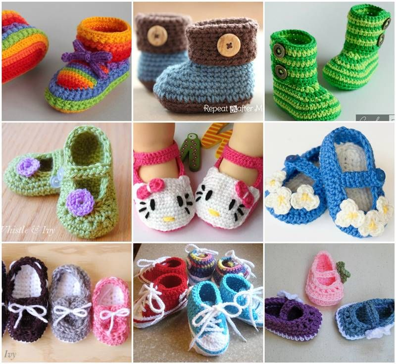 Adorable and FREE Crochet Baby Booties Patterns | Crochet Baby ...