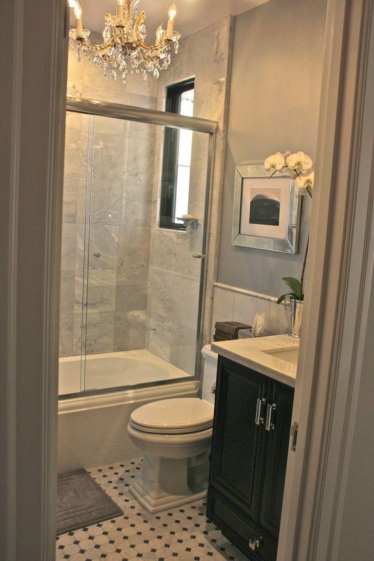 15+ Simple Glam Master Bathroom Ideas | Rustic bathroom ...