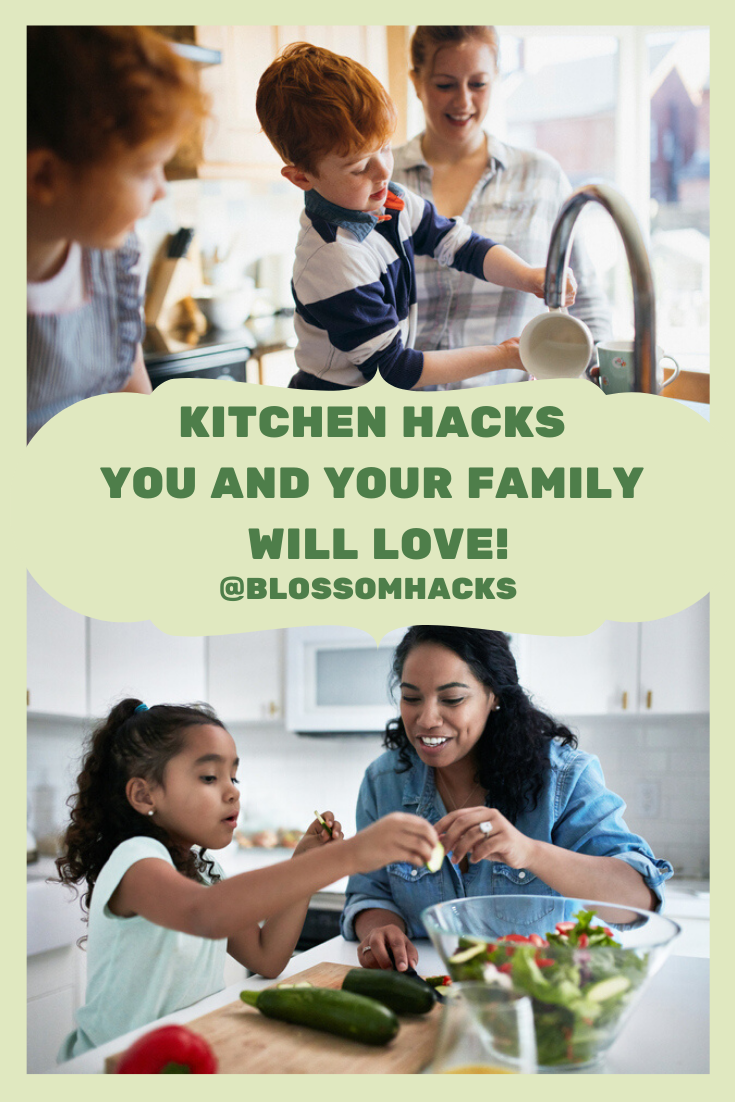 Kitchen Hacks you and your Family will love Creative kitchen hacks Which one is your favorite We have just the hacks to keep your household under control Check us out BLO...