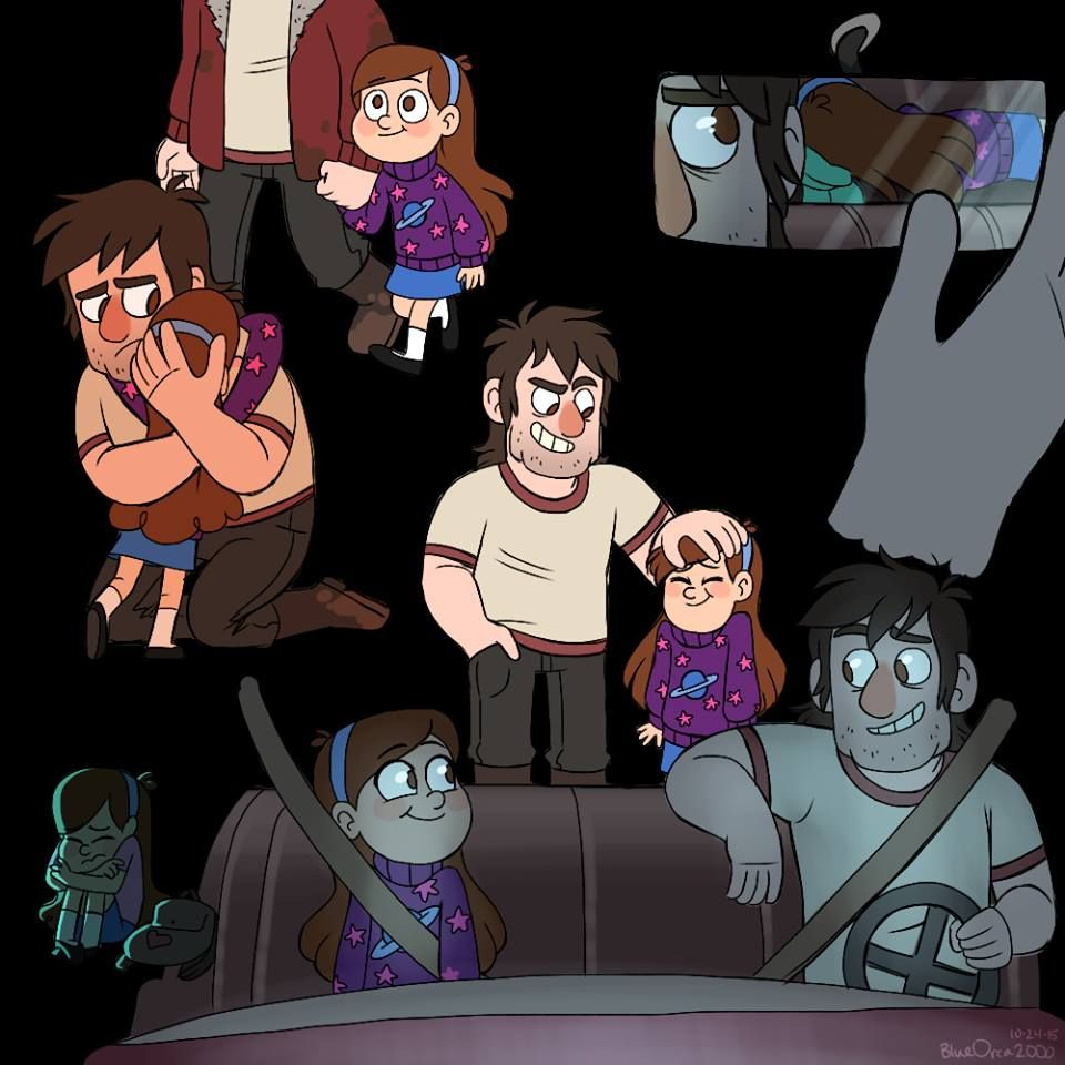 Time Stuck - Gravity Fall AU  It's about young Stan and Mabel