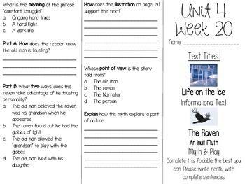 Grade 3 Journeys Unit 4 Week 20 Tri Fold The Unit Classroom Discussion Grade 3