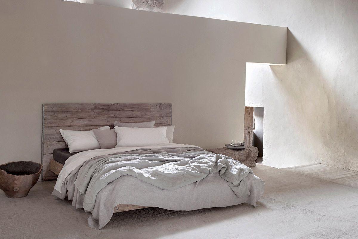 Un acogedor dormitorio Interiores de casa rústica