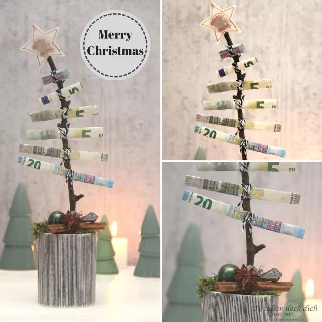Das geht fix No. 26 - Oh Tannenbaum Geldgeschenk zu Weihnachten - Tischlein deck dich