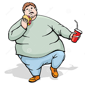 fat man walk and eat royalty free stock photos image 32804478 ifqde6 rh pinterest com au  big fat man clipart