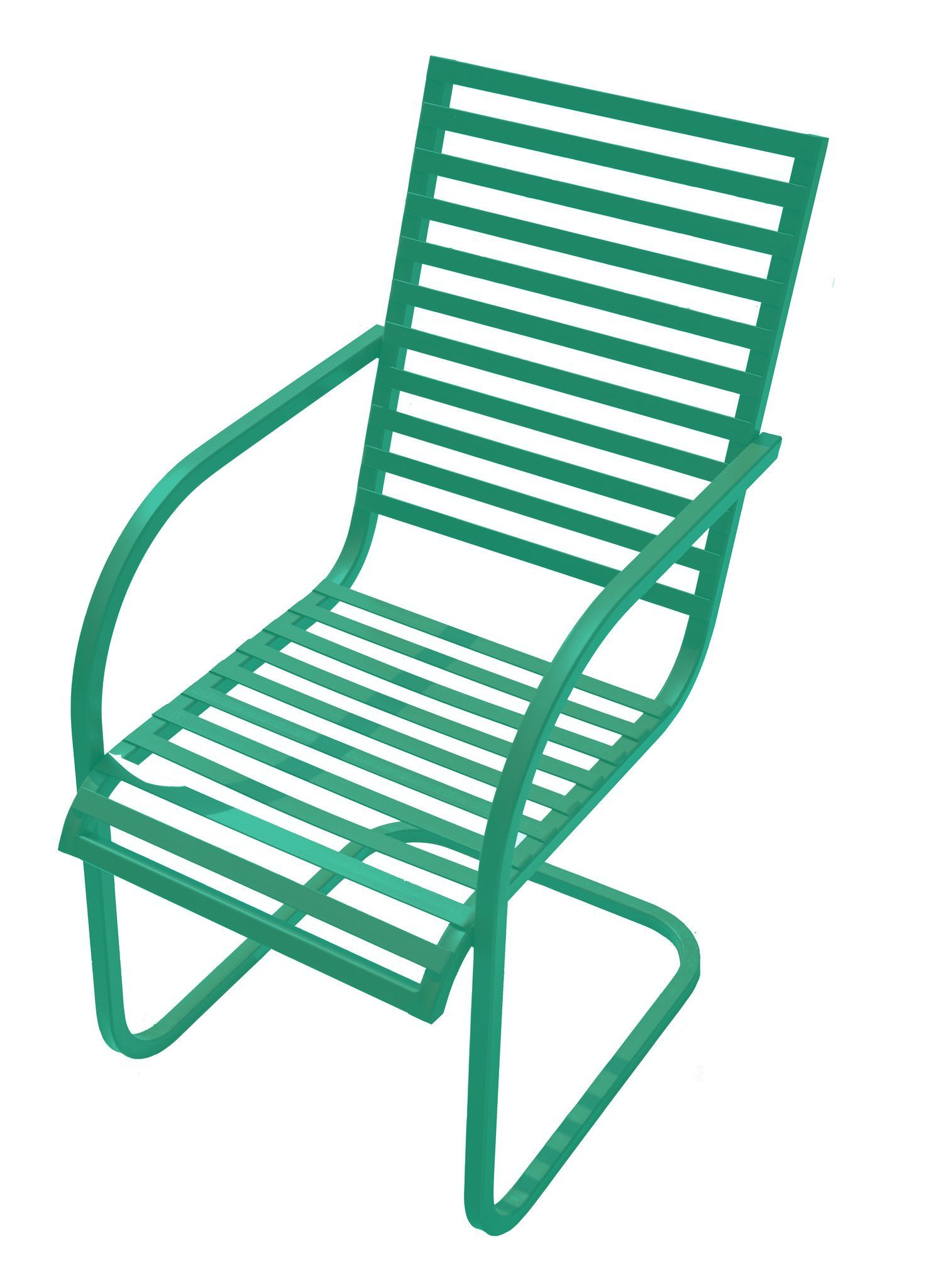 Square Top Retro Spring Rocking Chair Products